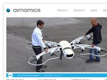 Airnamics Website Launch